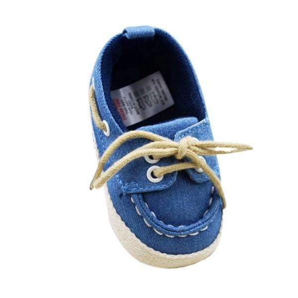 Boys Blue Soft Denim Shoes-Blue-3-JadeMoghul Inc.