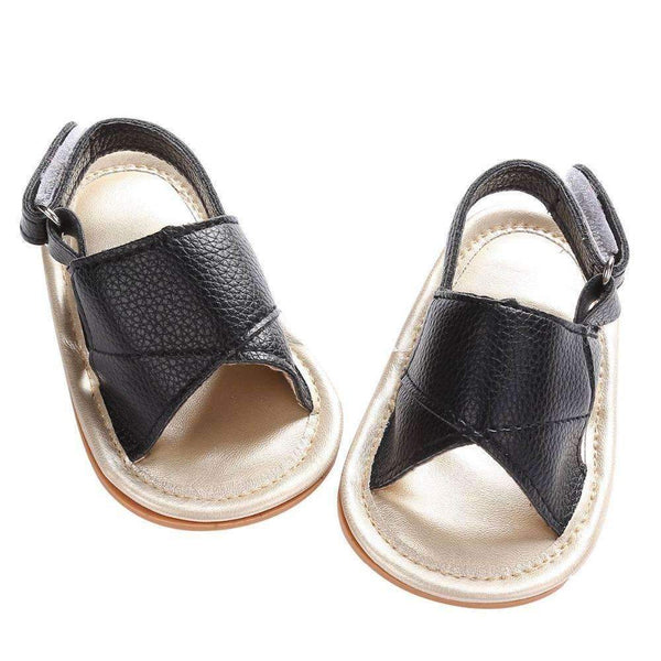 Boys Summer Beach PU Leather Sandals-1FW1A1001-7-12 Months-JadeMoghul Inc.