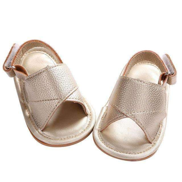 Boys Summer Beach PU Leather Sandals-1FW1A1002-7-12 Months-JadeMoghul Inc.