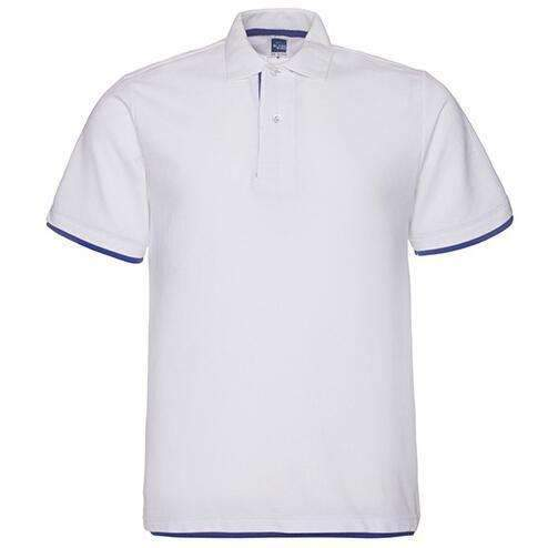 Brand New Men's Polo Shirt For Men Desiger Polos Men Cotton Short Sleeve shirt clothes jerseys golftennis Plus Size XS- XXXL-White sapphire blue-XS-JadeMoghul Inc.