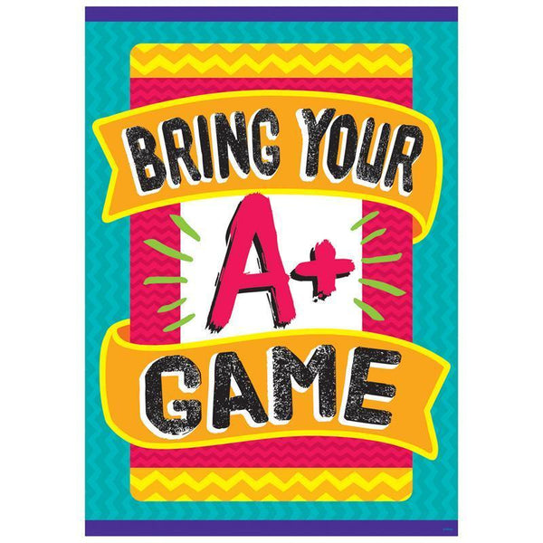 BRING YOURE A GAME ARGUS POSTER-Learning Materials-JadeMoghul Inc.