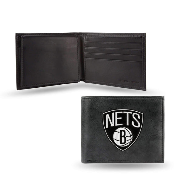 BROOKLYN NETS EMBROIDERED BILLFOLD-RBL Billfold (Embroidered)-JadeMoghul Inc.