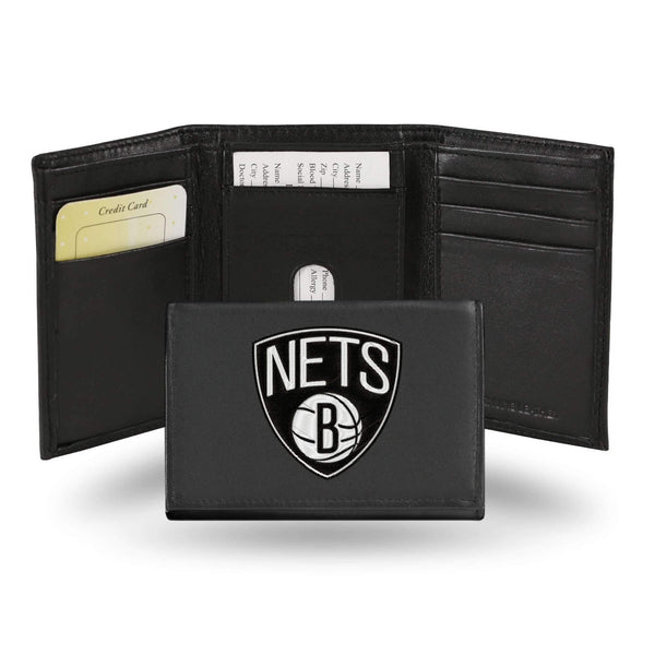 BROOKLYN NETS EMBROIDERED TRIFOLD-RTR Tri-Fold (Embroidered)-JadeMoghul Inc.