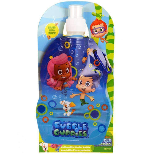 Bubble Guppies Collapsible Water Bottle [380 m - 12.85 oz]-Toy-JadeMoghul Inc.