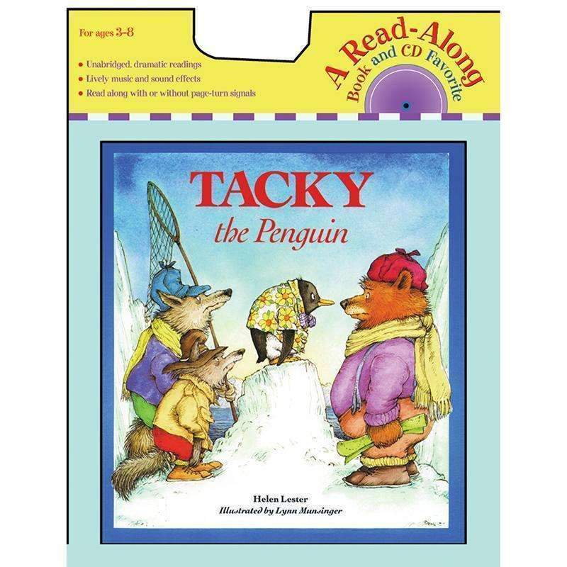 CARRY ALONG BOOK & CD TACKY THE-Childrens Books & Music-JadeMoghul Inc.