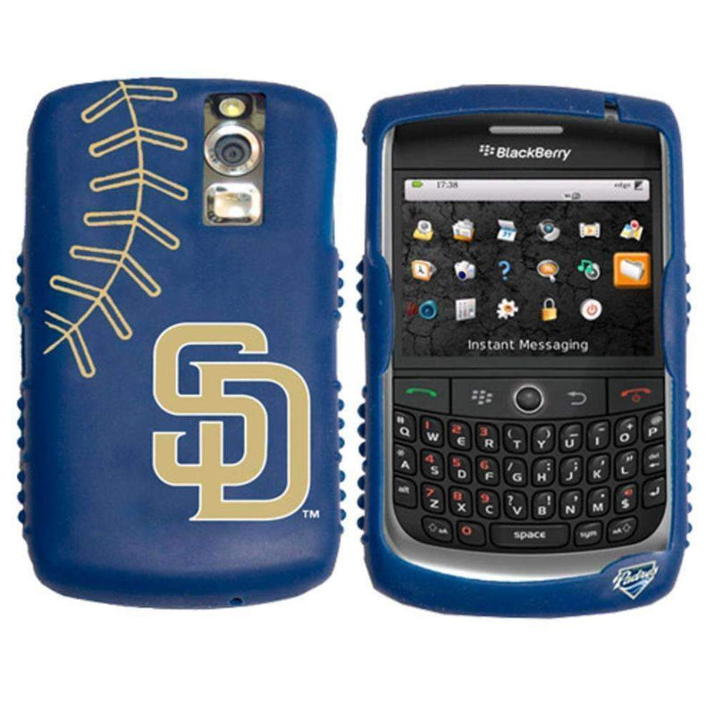 Cashmere Silicone Blackberry Curve Case - San Diego Padres-ELECTRONIC MEDIA-JadeMoghul Inc.