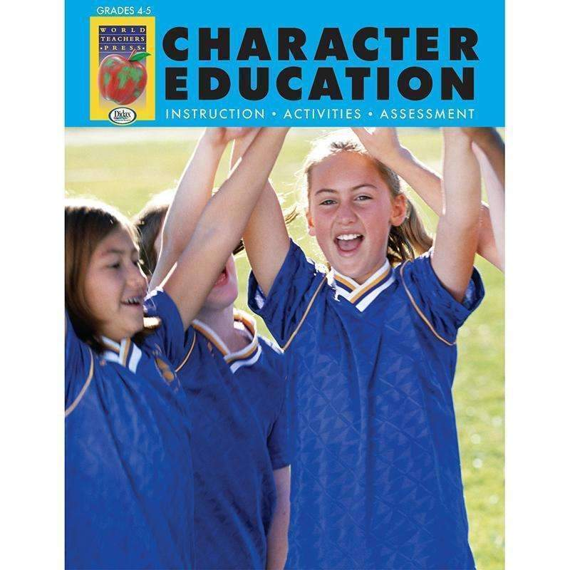 CHARACTER EDUCATION GR 6-8-Learning Materials-JadeMoghul Inc.