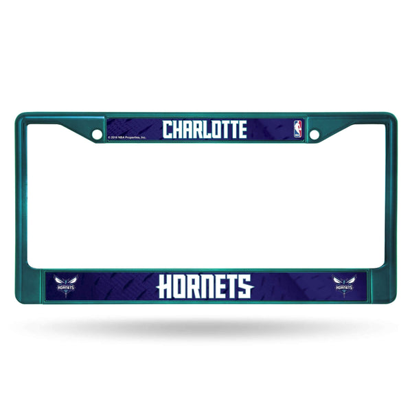 CHARLOTTE HORNETS AQUA COLORED CHROME FRAME-FCC_10 Colored Chrome Frame with Printed Insert-JadeMoghul Inc.