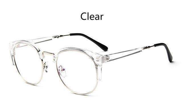 Cheap transparent Spectacle frame Anti-fatigue for cat eyes men's Glasses women Oculos De Grau masculino Retro Vintage eyewear-clear-China-JadeMoghul Inc.