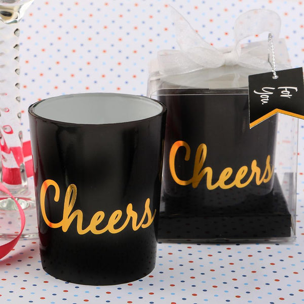 Cheers Candle from Fashioncraft-Wedding Reception Decorations-JadeMoghul Inc.