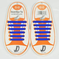 Children No Tie Silica Gel Shoe Laces-Blue-JadeMoghul Inc.