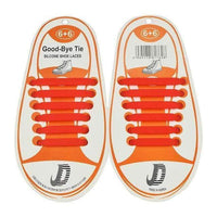 Children No Tie Silica Gel Shoe Laces-Red-JadeMoghul Inc.