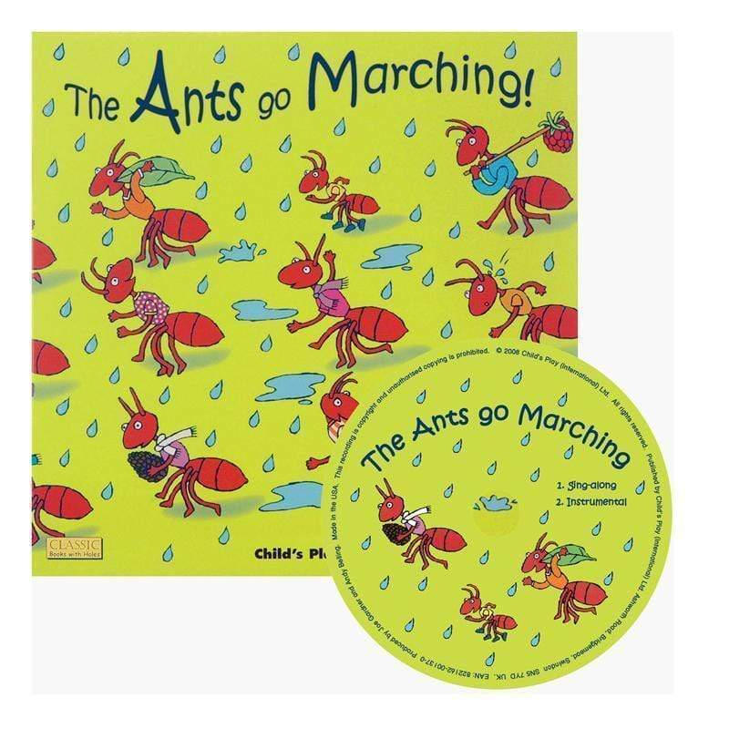 Childrens Books & Music The Ants Go Marching Classic Books CHILDS PLAY BOOKS