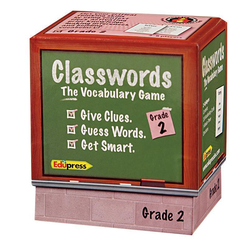 CLASSWORDS VOCABULARY GR 2-Learning Materials-JadeMoghul Inc.