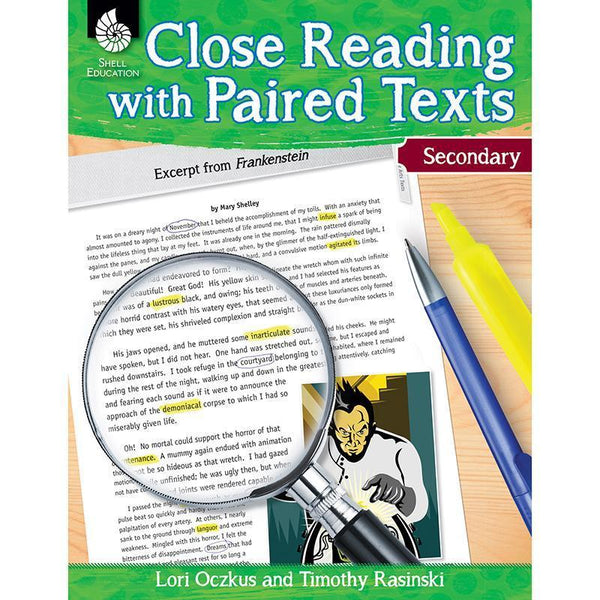 CLOSE READING W/ PAIRED LEV 6+-Learning Materials-JadeMoghul Inc.