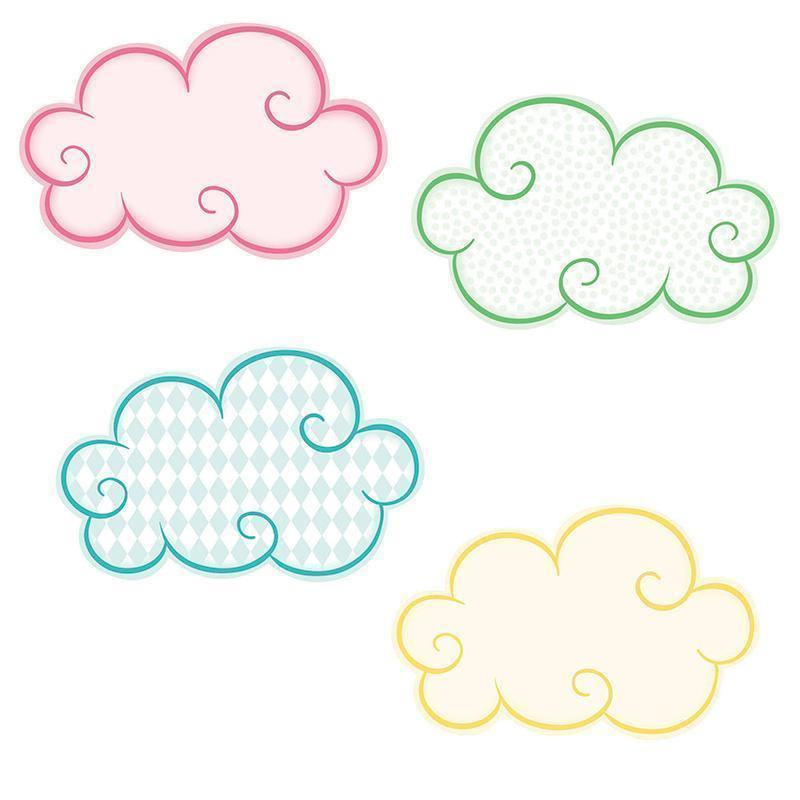 CLOUDS MINI CUTOUT GR PK-5-Learning Materials-JadeMoghul Inc.