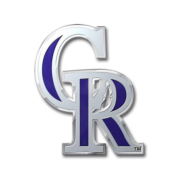 Colorado Rockies Color Auto Emblem-All Other Sports-JadeMoghul Inc.