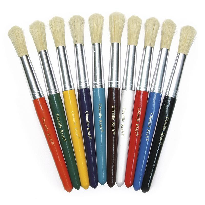 COLOSSAL BRUSHES SET OF 10 ASSORTED-Arts & Crafts-JadeMoghul Inc.