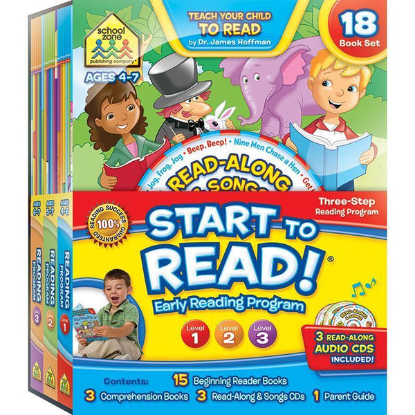 COMPLETE EARLY READING PROGRAM-Learning Materials-JadeMoghul Inc.