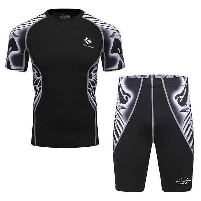 Compression / Fitness Sportswear Set-1-M-JadeMoghul Inc.