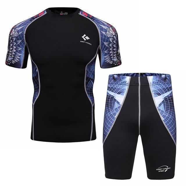 Compression / Fitness Sportswear Set-11-XL-JadeMoghul Inc.