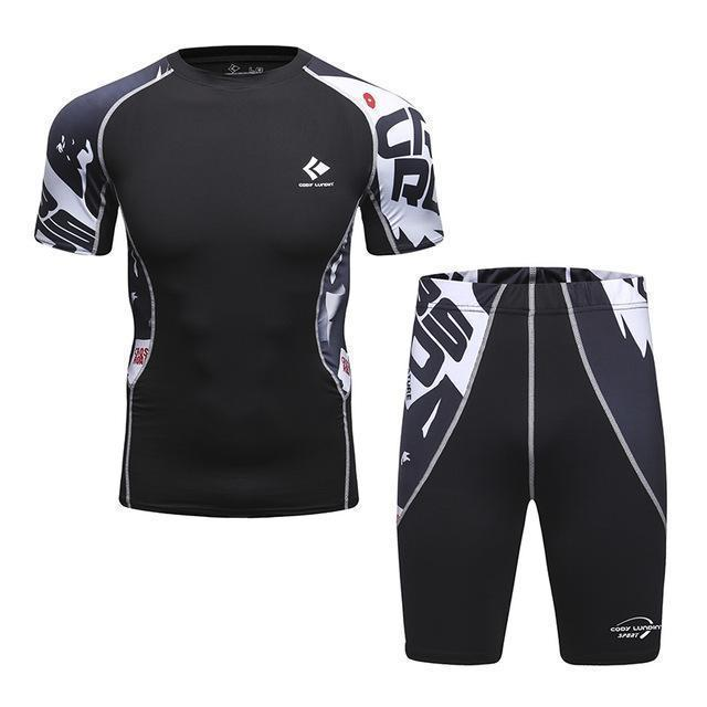Compression / Fitness Sportswear Set-2-M-JadeMoghul Inc.