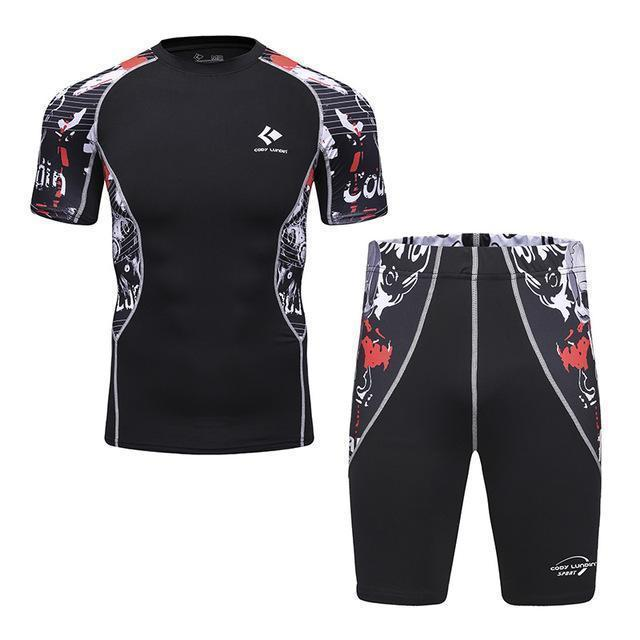 Compression / Fitness Sportswear Set-3-M-JadeMoghul Inc.