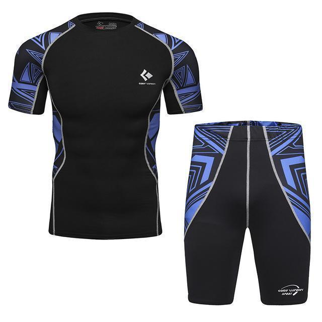 Compression / Fitness Sportswear Set-5-M-JadeMoghul Inc.