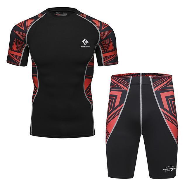 Compression / Fitness Sportswear Set-6-M-JadeMoghul Inc.
