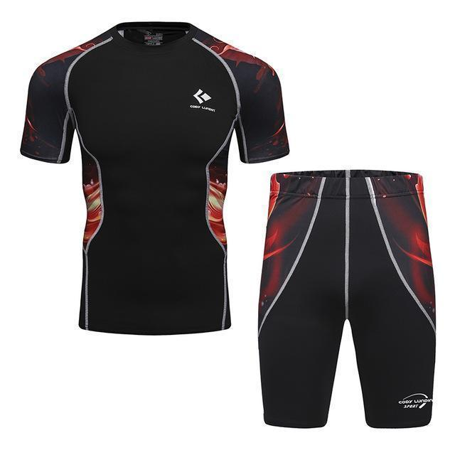 Compression / Fitness Sportswear Set-7-M-JadeMoghul Inc.