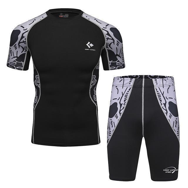 Compression / Fitness Sportswear Set-8-M-JadeMoghul Inc.