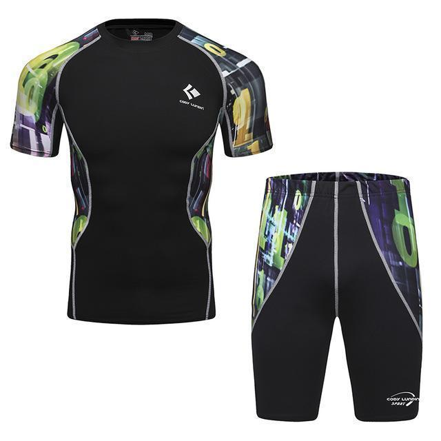 Compression / Fitness Sportswear Set-9-M-JadeMoghul Inc.