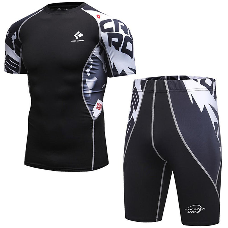 Compression / Fitness Sportswear Set-Model 1 shorts-M-JadeMoghul Inc.