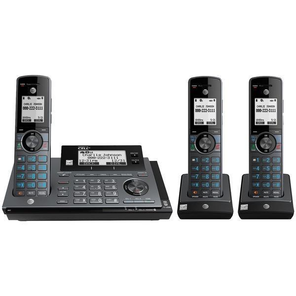 Connect-to-Cell(TM) Phone System (3 Handsets)-Corded Phones-JadeMoghul Inc.
