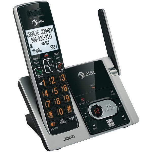 Cordless Answering System with Caller ID/Call Waiting (3-handset system)-Cordless Phones-JadeMoghul Inc.