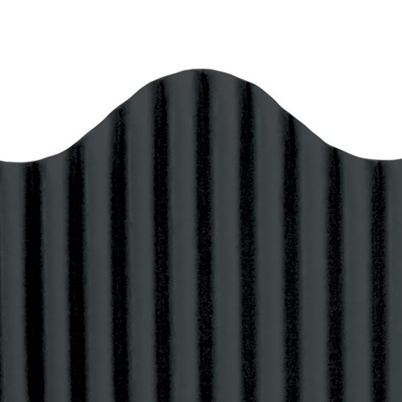 CORRUGATED BORDER BLACK-Supplies-JadeMoghul Inc.
