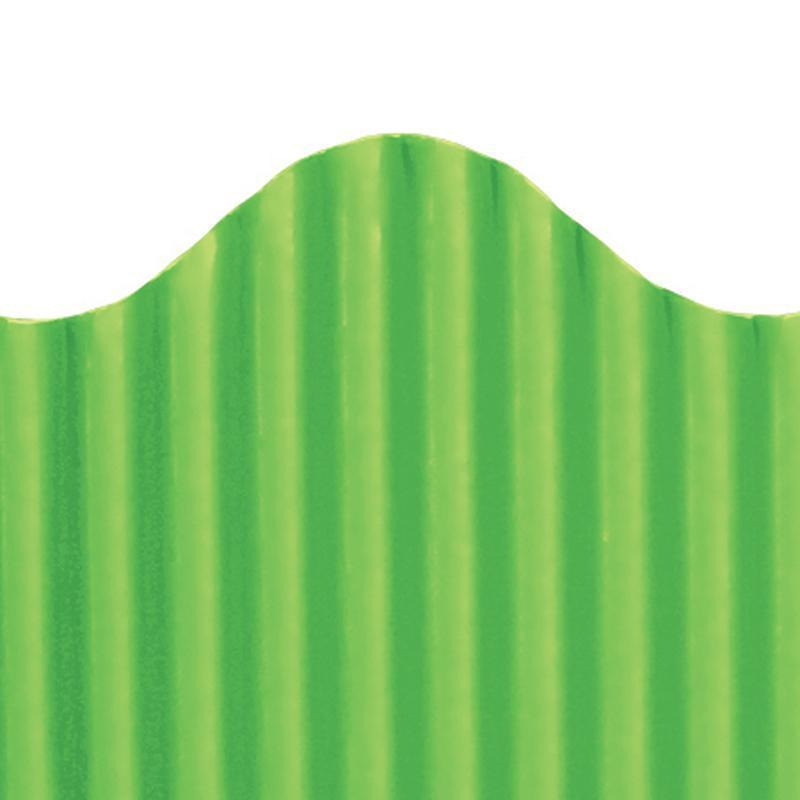CORRUGATED BORDER GRANNY GREEN-Supplies-JadeMoghul Inc.