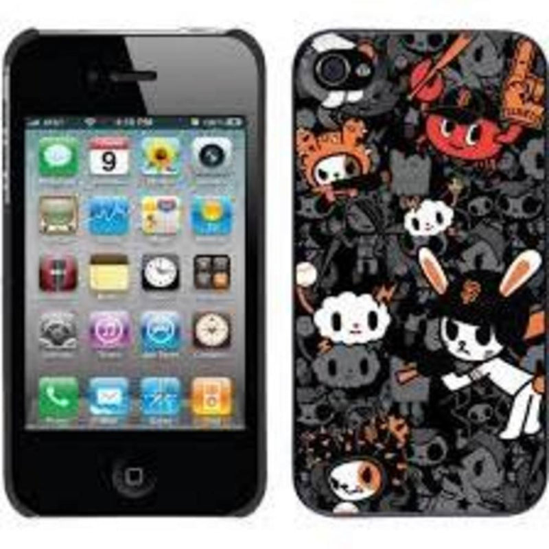Coveroo MLB San Francisco Giants Tokidoki Pattern Design iPhone 4 4s Thinshield Snap-On Case-LICENSED NOVELTIES-JadeMoghul Inc.