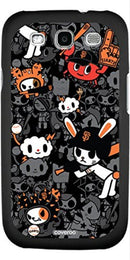 Coveroo MLB San Francisco Giants Tokidoki Pattern Design Samsung Galaxy S3 Thinshield Snap-On Case-LICENSED NOVELTIES-JadeMoghul Inc.
