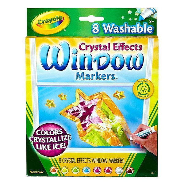 CRAYOLA CRYSTAL EFFECTS WINDOW-Arts & Crafts-JadeMoghul Inc.