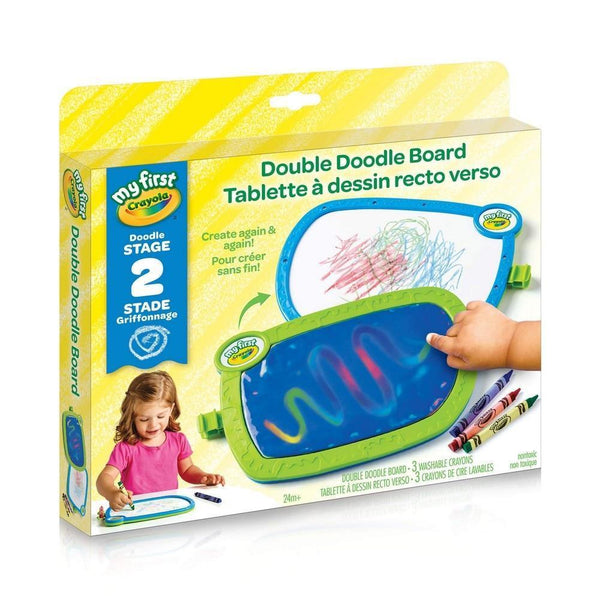 Crayola My First Double Doodle Board-Art & Drawing Toys-JadeMoghul Inc.