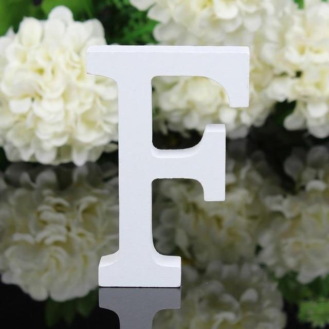 Wood Wooden Letters Alphabet Word Bridal Wedding Party Home Decor