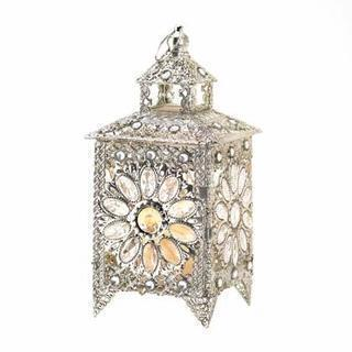 CROWN JEWELS CANDLE LANTERN-Seasonal Merchandise/Gifts-JadeMoghul Inc.