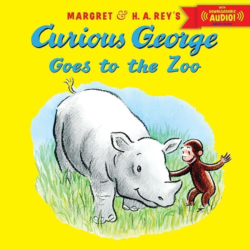 CURIOUS GEORGE GOES TO THE ZOO-Childrens Books & Music-JadeMoghul Inc.