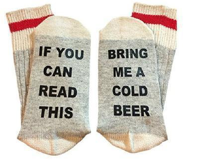 Custom wine socks If You can read this Bring Me a Glass of Wine Socks autumn spring fall 2017 new arrival-15-JadeMoghul Inc.