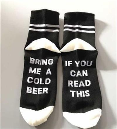 Custom wine socks If You can read this Bring Me a Glass of Wine Socks autumn spring fall 2017 new arrival-18-JadeMoghul Inc.
