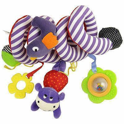 Cute Baby Toy Newborn Rattles Stroller Bed Hanging Educational Plush Toys Kids Gifts--JadeMoghul Inc.