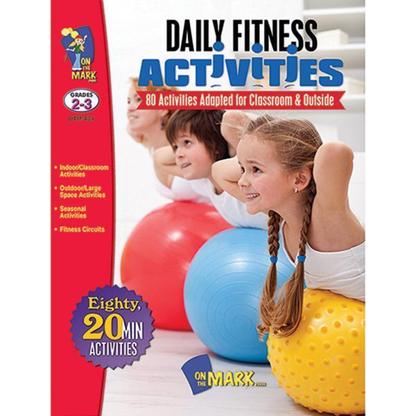 DAILY FITNESS ACTIVITIES GR 2-3-Learning Materials-JadeMoghul Inc.