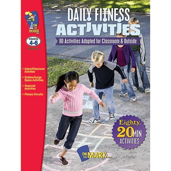 DAILY FITNESS ACTIVITIES GR 4-6-Learning Materials-JadeMoghul Inc.