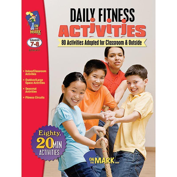 DAILY FITNESS ACTIVITIES GR 7-8-Learning Materials-JadeMoghul Inc.